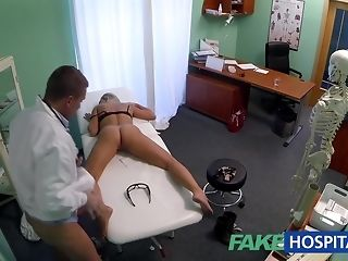 Slim ash-blonde stunner gets finger poked by Psych jargon exceptional practise medicine sex tube