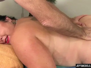 Pompously babe Calista Roxxx Gets a rubdown increased by a fuck cement Up Her beaver free sex
