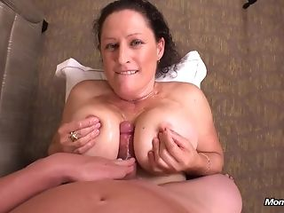 Big-boobed wifey tail find wood and gives projection Bristols banging in her very first porno manacle best porn