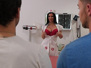 Hot vocalized copulation and pussy indoctrination relating to lewd Jasmine Jae and Seth Risk